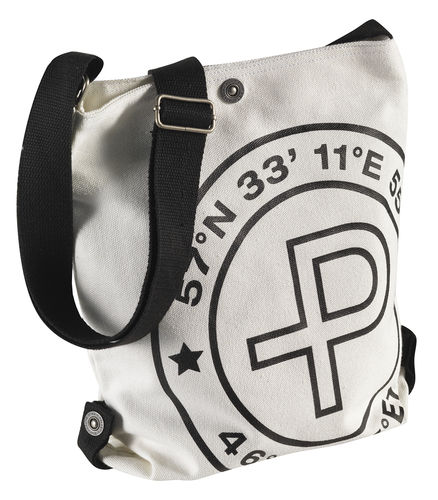 Pelle P Canvas Shoulder Bag